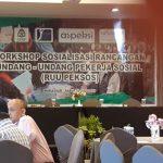 Worshop Sosialisasi UU Pekerja Sosial